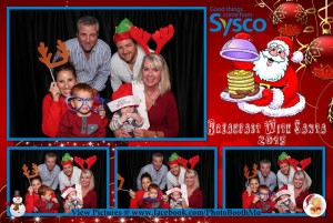 SYSCO Breakfast with Santa